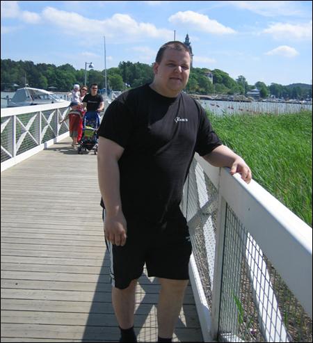 Naantalin rannassa 2007 kesällä