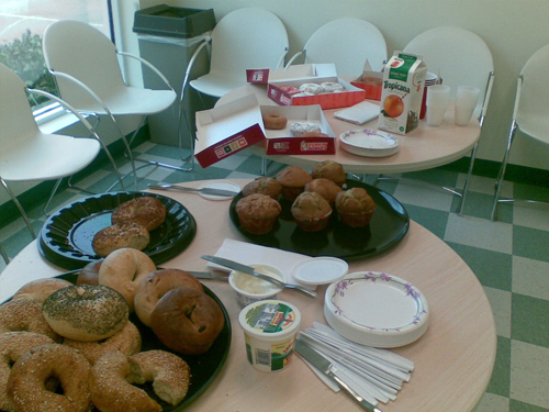 Amerikkalainen aamiainen Miamissa
