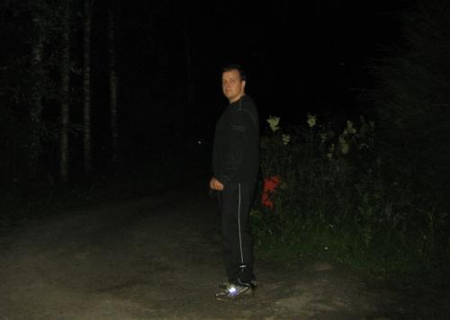 Lohjan Personal Trainer lenkillä keskellä yötä