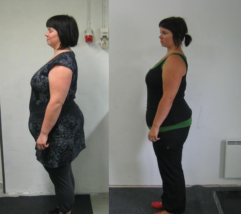 -13 kiloa pois kehosta