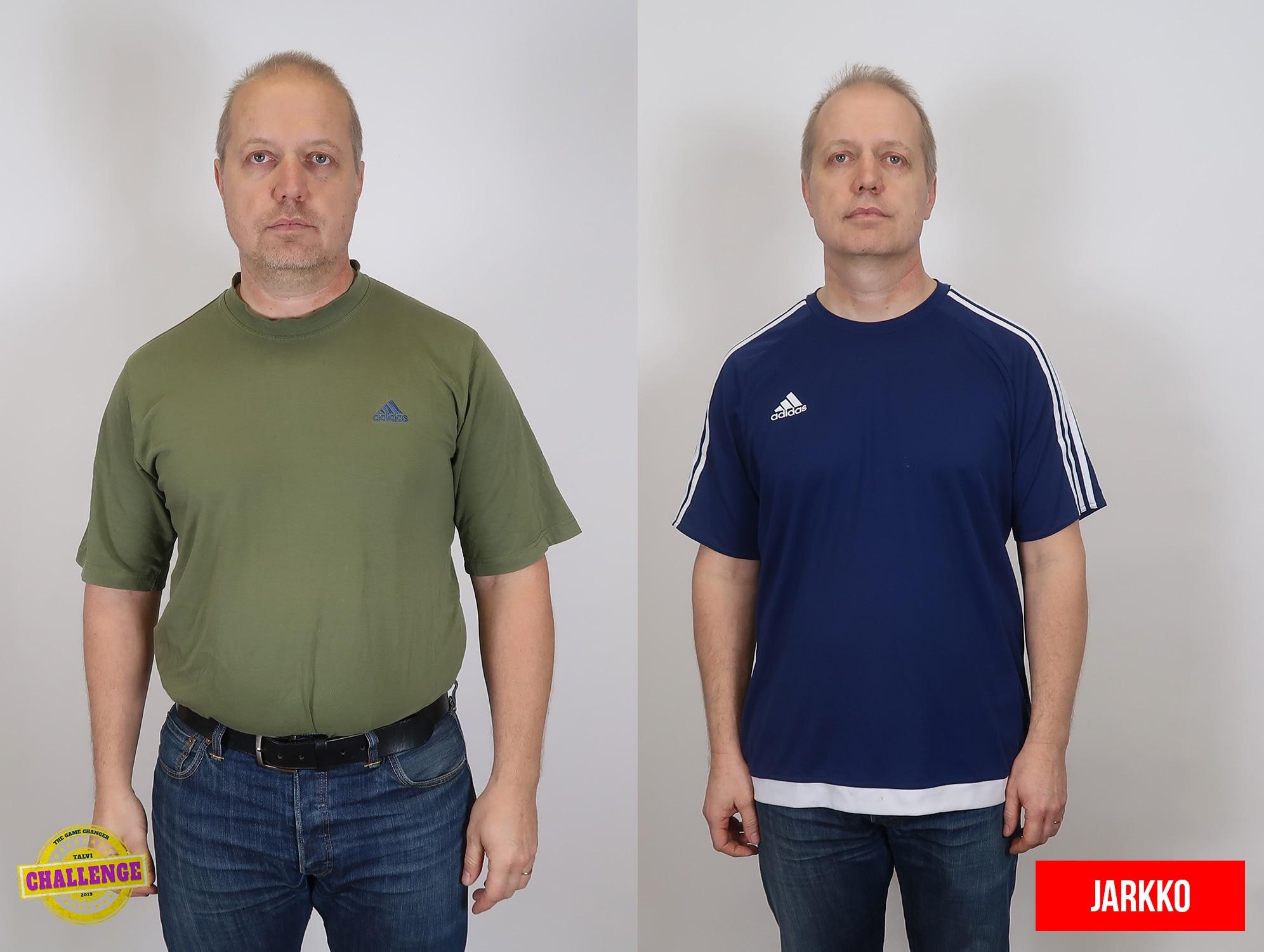 mies ennen ja jälkeen