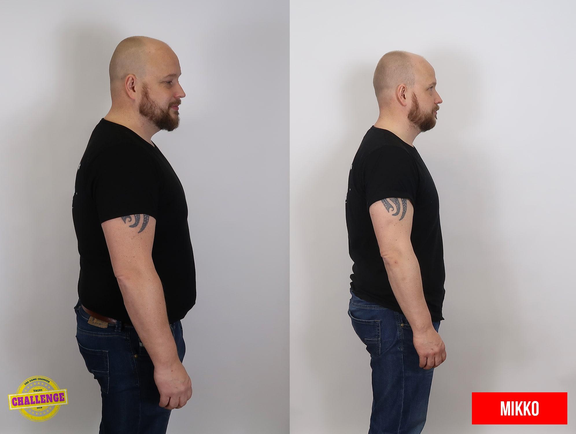 personal trainer naantali mies laihtunut paljon