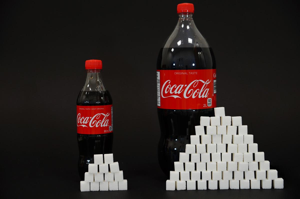 coca cola ja sokerimäärä