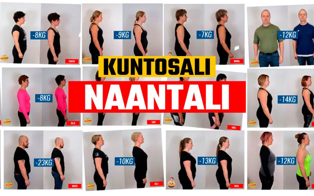 Kuntosali Naantali – kesäksi kuntoon treeniohjelma